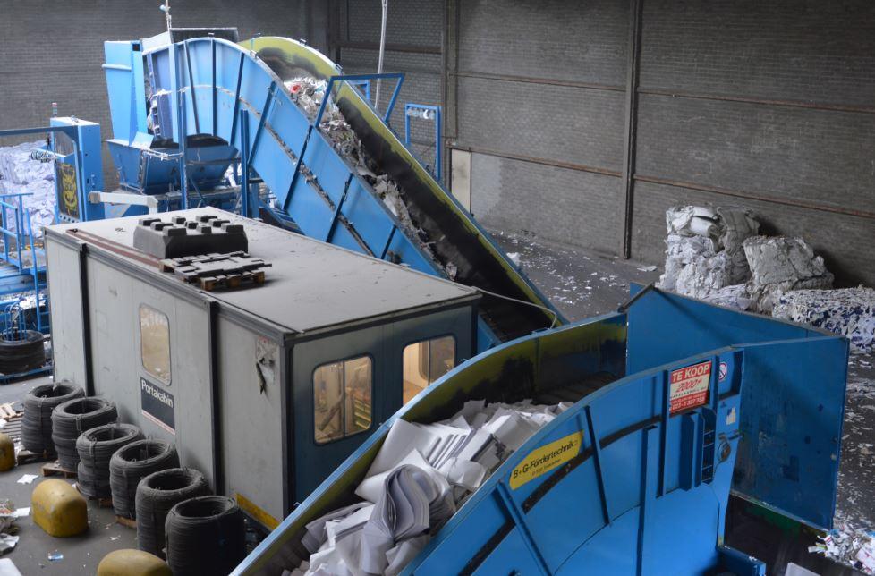 papierrecycling machine